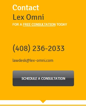 If you need help, call now, LEX OMNI @ 408-236-2033 | $150.00/hr legal services attorney.